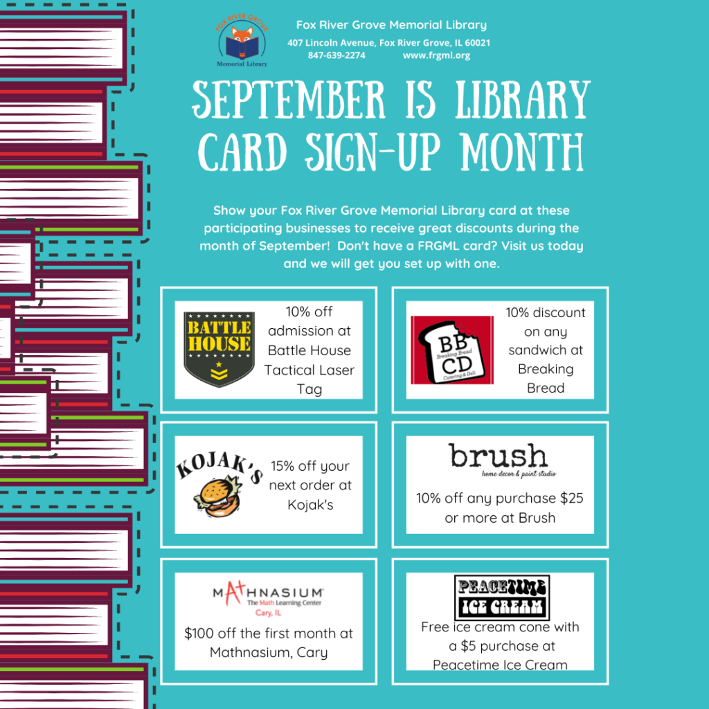 Copy of Library card sign up month